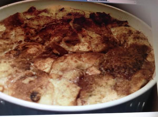 Apple And Bread Pudding Recipe