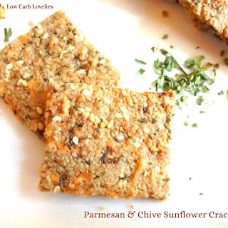 Parmesan & Chive Sunflower Crackers