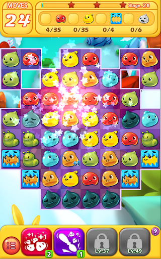 Jelly Jelly Crush - In the sky screenshots 19