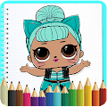 How To Color LOL Surprise Dolls by K6AppMaker APK