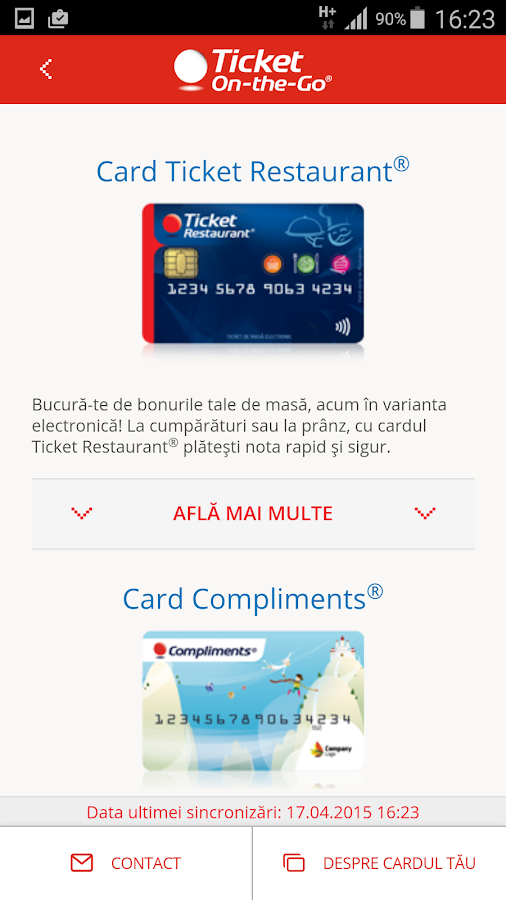 Ticket On-the-Go Romania- screenshot