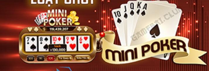 Game Mini Poker tại Bumvip