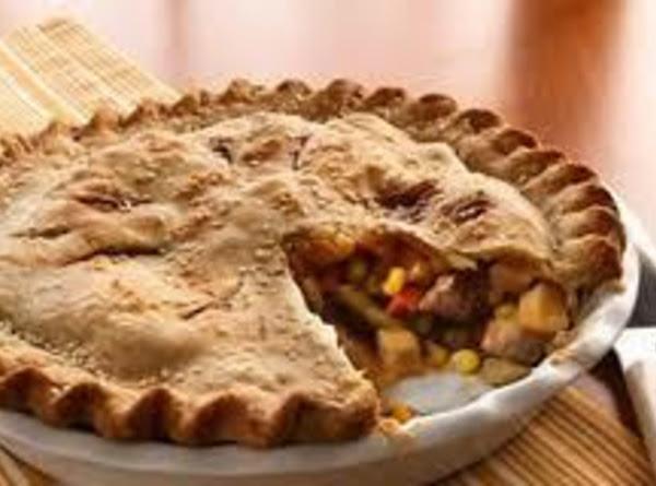 Leftover Beef Pot Pie Recipe
