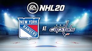 NHL 20: New York Rangers at Washington Capitals thumbnail