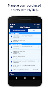 NJ TRANSIT Mobile App- screenshot thumbnail