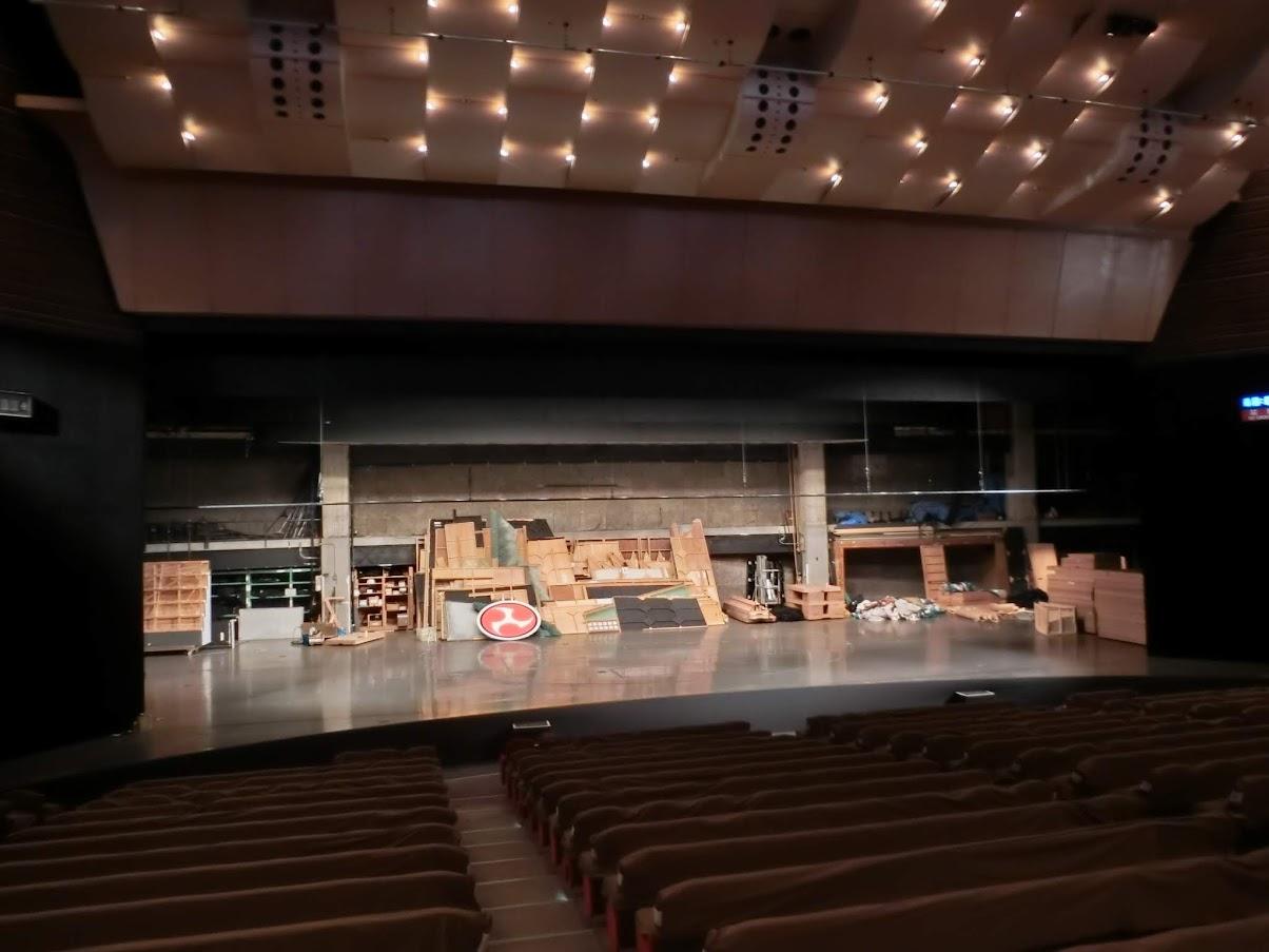 中日劇場ホール中央