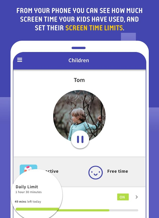 Screen Time Parental Control- screenshot