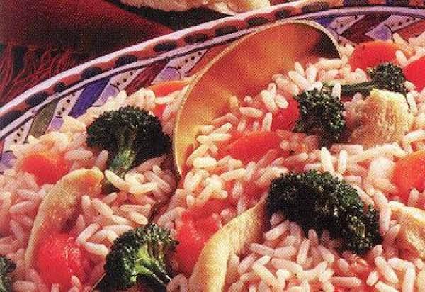 Classic Chicken And Rice Primavera Recipe