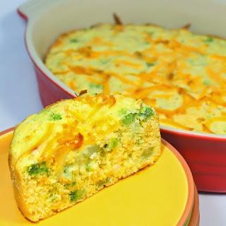 Cheddar Broccoli CornBread.