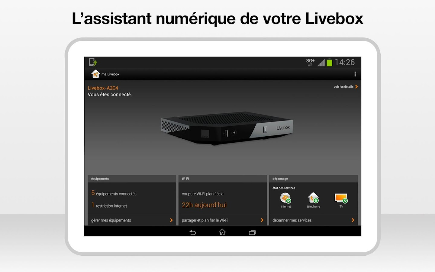 ma Livebox - screenshot