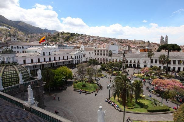 Plaza da Independência, Quito