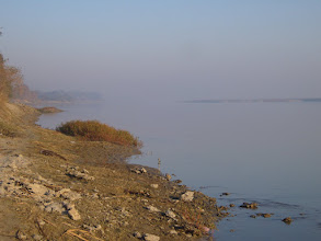 Photo: The Ganga early in the morning with no-one else present at Unchagaon 2008