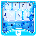 Blue Orchid Keyboard Theme icon