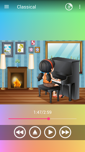 Classical music for baby 1.05 screenshots 1