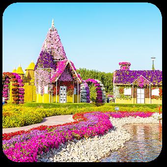 Beautiful Flowers Garden Wallpaper for chat