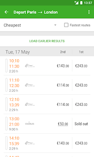 Captain Train: train tickets Screenshot 3