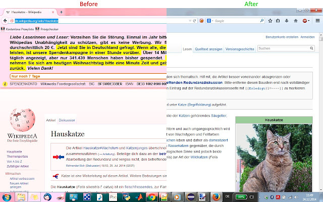 Wikipedia Ad-Free