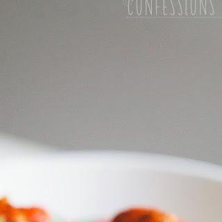 Spaghetti (Squash) and Meatballs with Quick Tomato Sauce