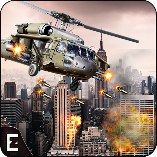 City Helicopter Strike Game 3D: Counter Terrorist