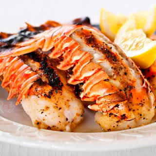 Broiled Lobster Tails.