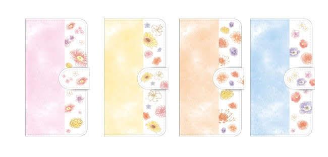 【画像】手帳型スマートフォンケース(全4種)