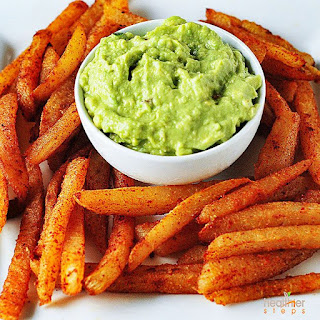 Baked Jicama Fries.