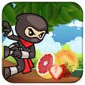Jungle Ninja Run Fruit icon
