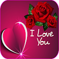 Romantic images, I love you, Roses and flowers Gif APK