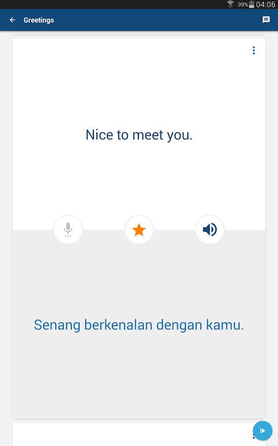 Learn Bahasa Indonesian Phrase- screenshot