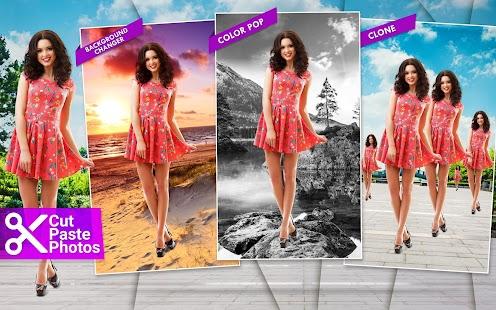 Cut Paste Photos Screenshot