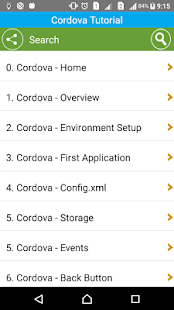 Learn Cordova- screenshot thumbnail