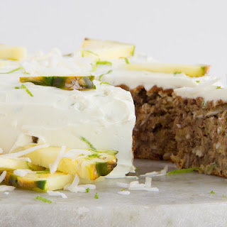 Coconut, Pineapple + Banana Cake (Wheat & Dairy-Free)