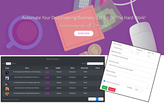 SuperDS - Dropshipping Tool