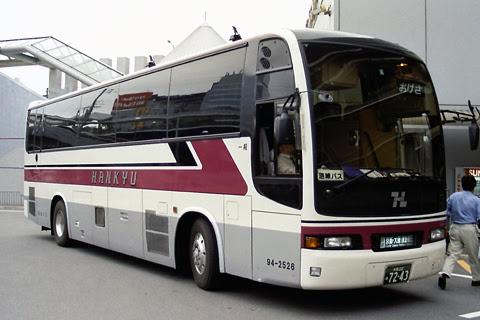 阪急バス「おけさ号」 7243