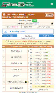Indian Railways @etrain.info- screenshot thumbnail