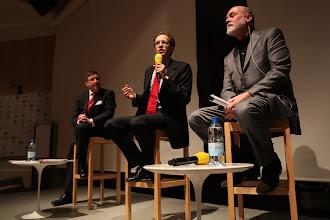 Photo: Maxim Behar, Daniel Holtgen, Allan Mayer - Privacy vs Publicity Debate, 2012