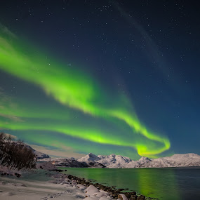 Dancing in the night by Geir Hammer - Landscapes Starscapes