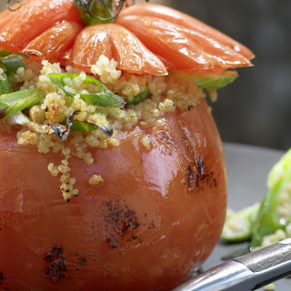 Couscous-Stuffed Grilled Tomatoes.