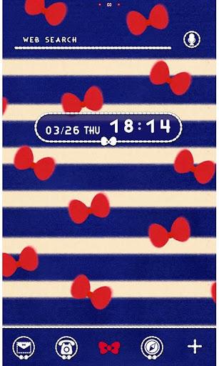 ★免费换装★蓝条纹和蝴蝶结