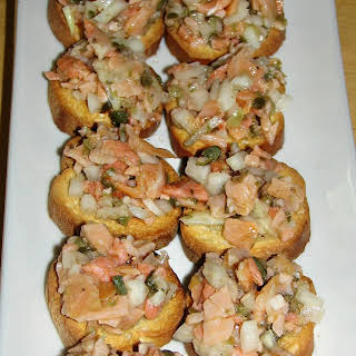 Easy and Delicious Smoked Salmon Appetizers.