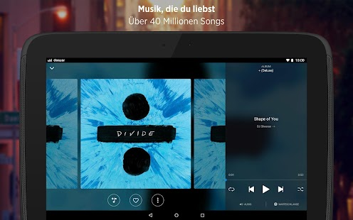 Deezer Musik & Hörbuch Player: Hör Top MP3 Songs Screenshot