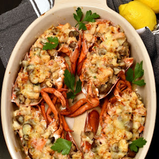 Lobster Thermidor.