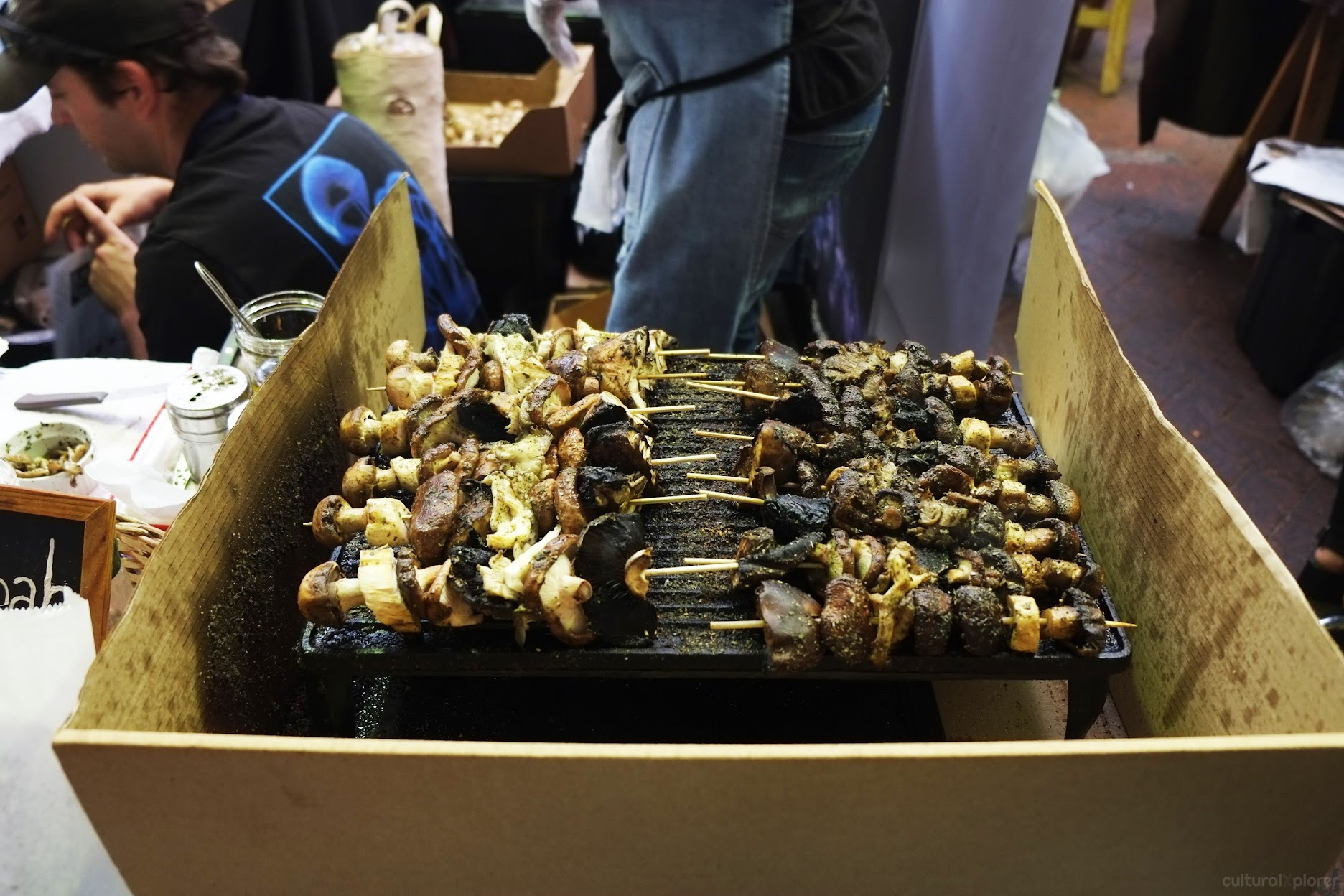Grilled Mushrooms Neighbourgoods Market