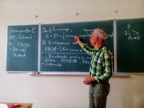 Photo: Володимир Любашенко (Інститут математики НАН України, м. Київ) K-теорія: Q-конструкція Квилена July 28, 2015