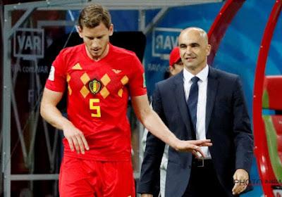 Jan Vertonghen a pris une décision au sujet de son avenir en équipe nationale