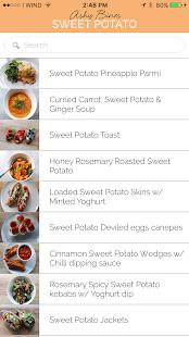 Ashy Bines 101 Sweet Potato Recipes screenshot