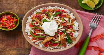 Pulled Pork Fiesta Bowls Recipe | HelloFresh