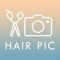 カットモデルアプリ【無料で美容室】〜HAIR PIC〜  icon