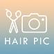 カットモデルアプリ【無料で美容室】〜HAIR PIC〜