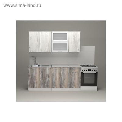 Кухонный гарнитур Инна макси, 1800 мм